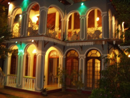 Hotel Shalini Main Building - Night View