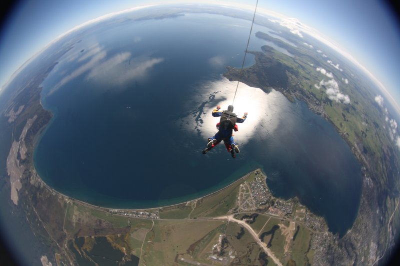Freefall - check out those views!