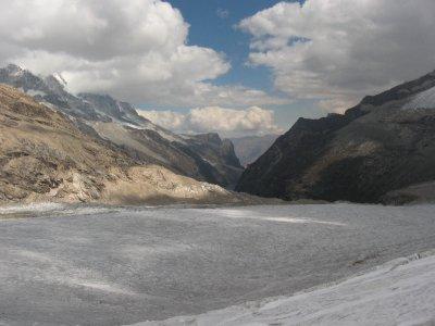 ...und weite Gletscher