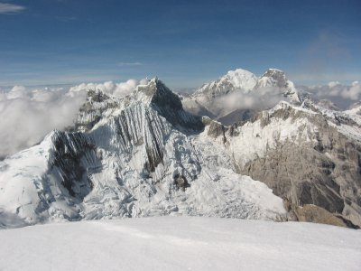 Blick Richtung Huascaran