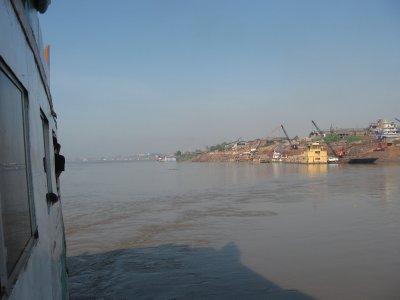 Fracht- und Passagierhafen von Pucallpa
