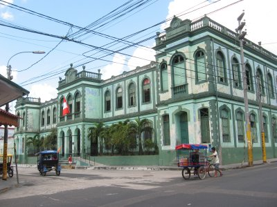 Kolonialbau in Iquitos