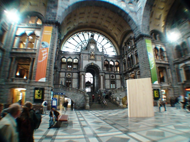 Anwerp Belgium Central Station