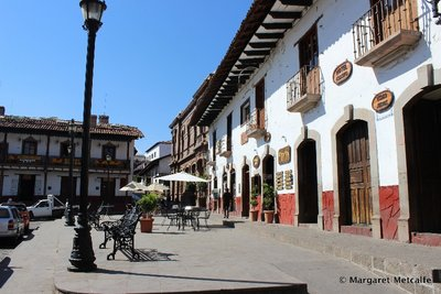 Main square in Valle de Bravo