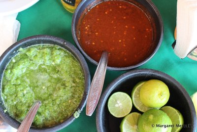 Spicy Mexican sauces