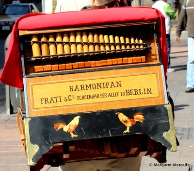 German barrel organ