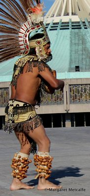 Aztec Indian dancer