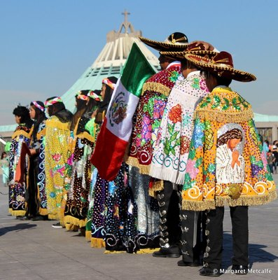 Mariachi hats and capes