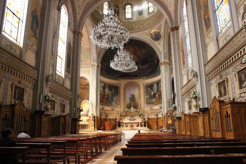 Inside church in the Colonia Roma