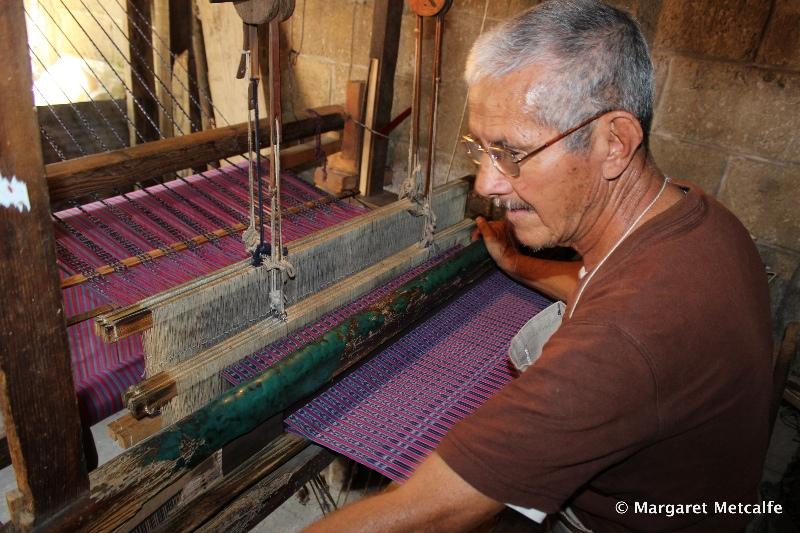 Weaver at his loom