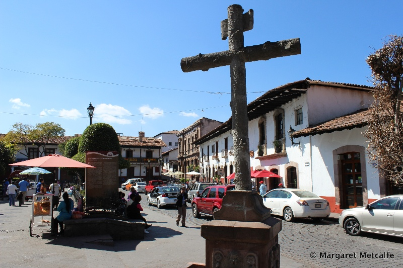 Cross in the main square