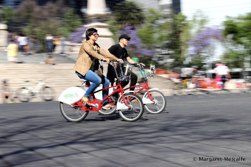 Ecobicis, Mexico City's shared bicycle system