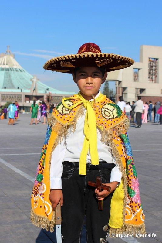 Boy at Basilica
