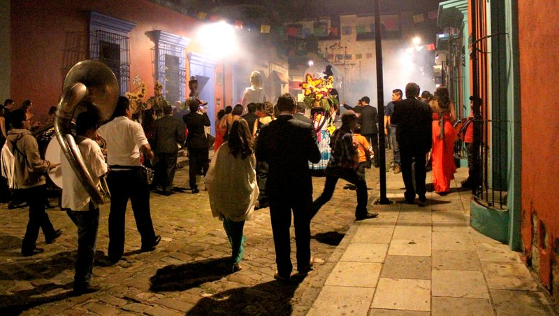 Fiesta in the streets
