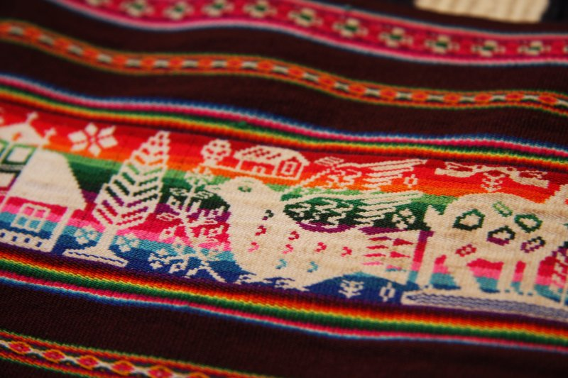 The intricacies of the weavings are incredible