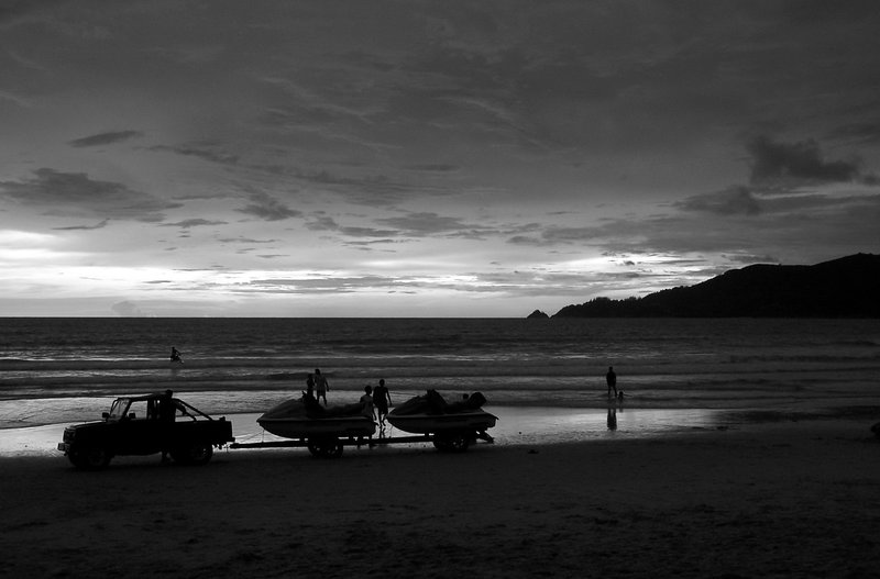 Patong Beach Sunset