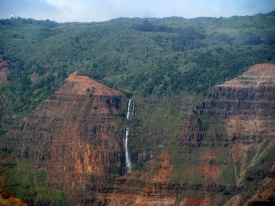 Helicoptervlucht over Kauai