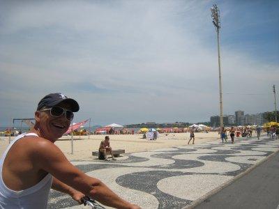 Copacabana op de fiets