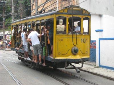 Santa Theresa met trammetje
