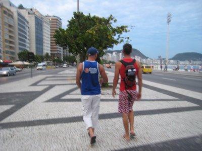 Wandeling Ipanema ~ Copacabana