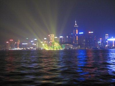 Hong Kong Harbour Lightshow