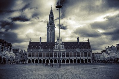 Ladeuze square in Leuven
