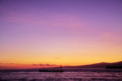 Before Sunrise on Gili Air