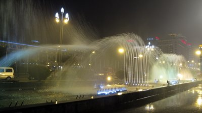 Tianfu Musical Fountain