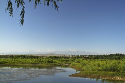 Spring Lake in Jiayu Pass