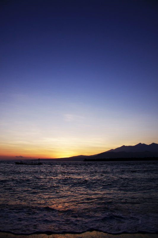 The First Lights of Gili Air