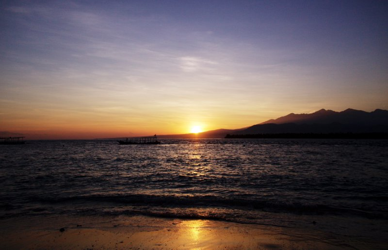 Rising on Gili Air