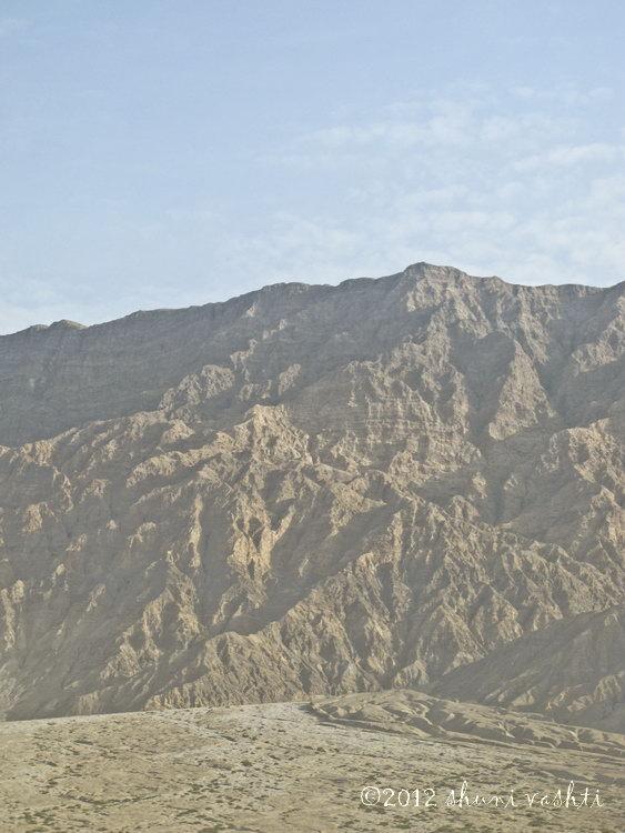 Taklamakan Mountain Desert