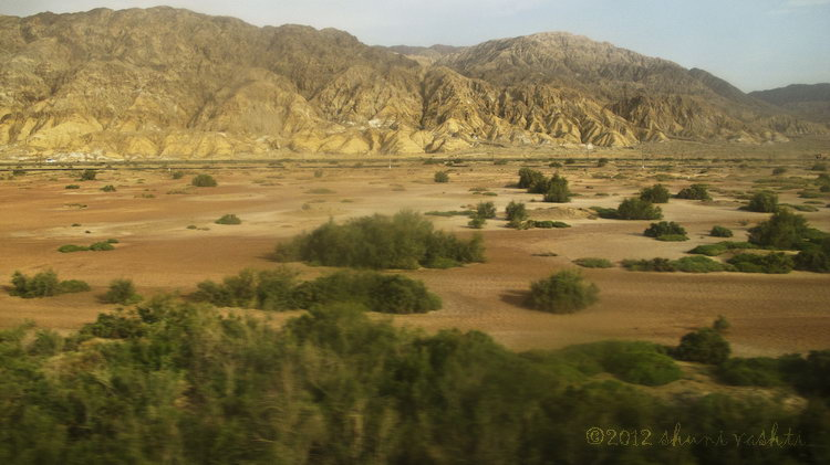 Taklamakan Desert Train View -4