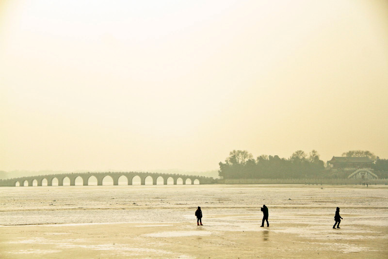 Kunming Lake in Winter