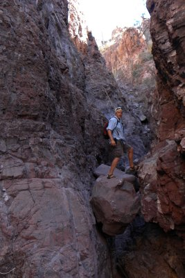 Slot Canyon Man