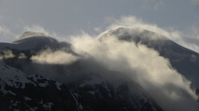 Cloud Clearing Mountain