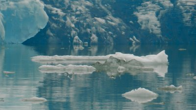 Glacial Ice Blue