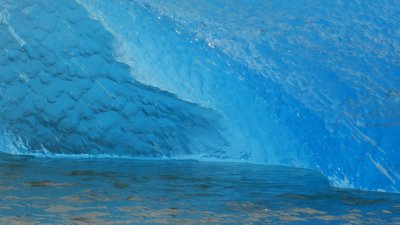 Blue Ice and Blue Water