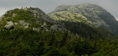 The Chin of Mt. Mansfield (in background)