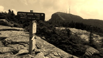 Mt. Mansfield and The Trail Home
