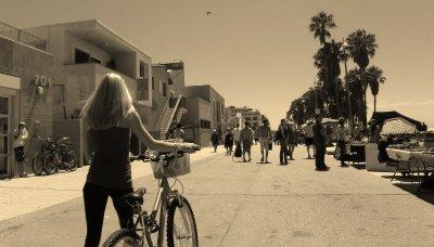 Venice Beach Street Scene