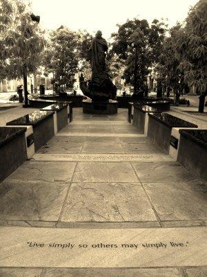 The Ghandi Statue