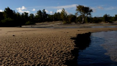 The Shore of Sand Creek