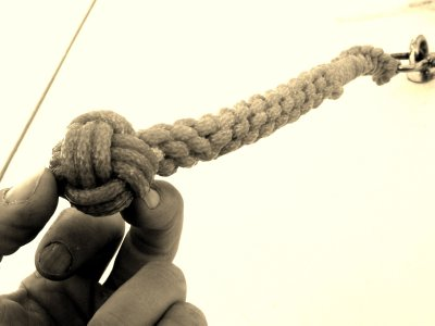 Monkey's Fist and Plaited Sennit