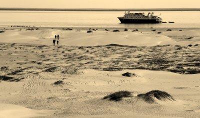 Crossing Isla Magdalena