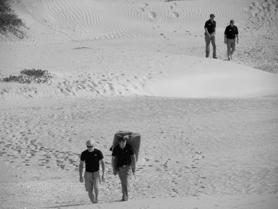 Trekking Across the Dunes