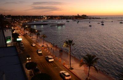 Evening Scene in La Paz