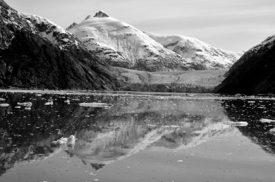 The Dawes Glacier, Reflected
