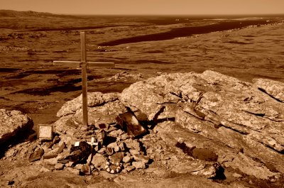 The Cross on Tumbledown Ridge