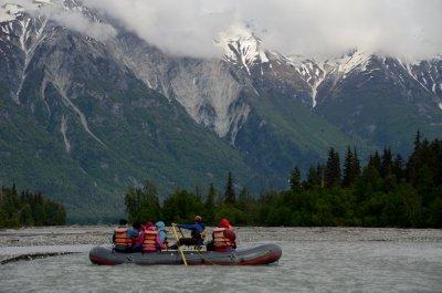 Rafting in Alaska